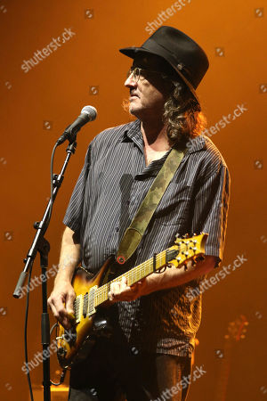 Stock Image of James McMurtry performs as the opener for Jason Isbell and The 400 Unit at the Fox Theatre, in Atlanta