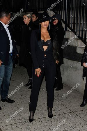 LaLa Anthony is seen at Tom Ford at Park Avenue Armory, in New York, NY