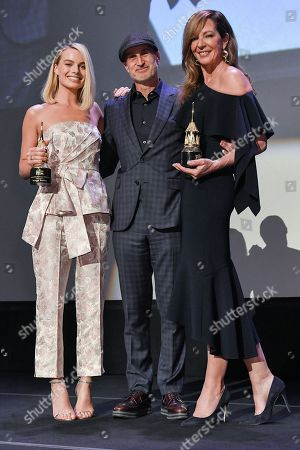 Margot Robbie, Craig Gillespie and Allison Janney
