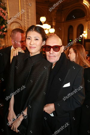 Michel Comte and wife