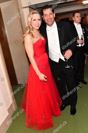 Gregor Bloeb and wife Nina Proll