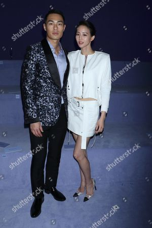 Tony Yang and Janine Chang in the front row