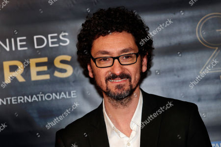 "David Foenkinos poses during a photocall prior to the 23rd Lumieres awards ceremony at the ""Institut du Monde Arabe"" in Paris, . The Academie des LumiËres, is a group of 200 foreign journalists who reunite each year in Paris to vote for the best French films"