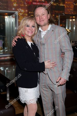 Carol Harrison and Chris Simmons