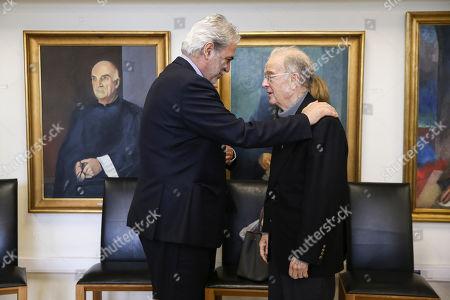 Christos Stylianides and Jorge Sampaio