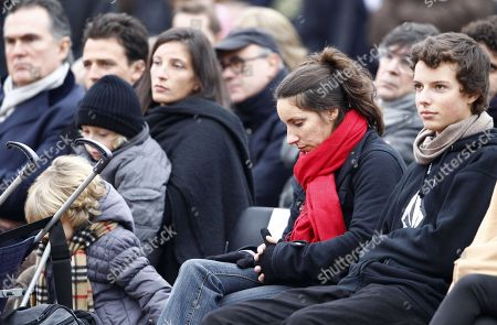 Editorial image of Funeral of France's former First lady Danielle Mitterrand - 26 Nov 2011