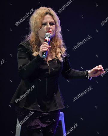 Editorial image of Sheba Mason performs at The Boca Black Box Center for the Arts, Boca Raton, USA - 08 Feb 2018