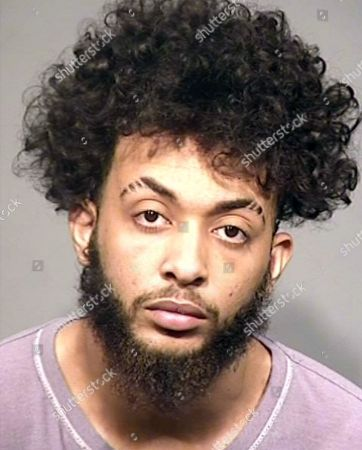 This booking photo provided by the Sonoma County Sheriff's Office shows Jonathan Jackson, one of four men authorities arrested after a daylong search prompted by two home invasion robberies in Santa Rosa, Calif., that left a man dead and another wounded early Thursday, Feb. 8. A woman remained at large after a block-by-block search in Vallejo, Calif., following a vehicle chase from Santa Rosa, the Press Democrat reported Friday