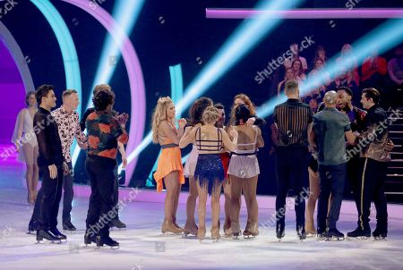 Lemar and Melody Le Moal with contestants