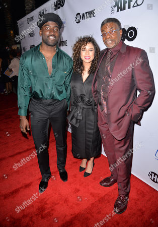 Stock Photo of Shamier Anderson, Nicole Lyn, Keith David
