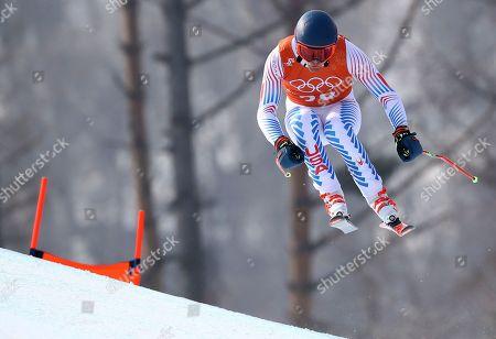 Editorial image of Pyeongchang Olympics Alpine Skiing, Jeongseon, South Korea - 10 Feb 2018
