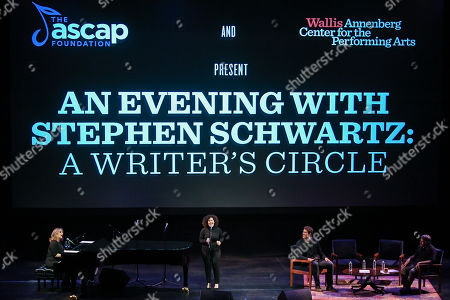 Zina Goldrich, Marcy Heisler, Cinco Paul and Stephen Schwartz