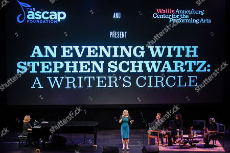 Zina Goldrich, Megan Hilty, Cinco Paul, Marcy Heisler and Stephen Schwarts