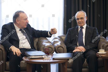 Editorial photo of Pierre Gattaz visit to Algeria - 08 Feb 2018
