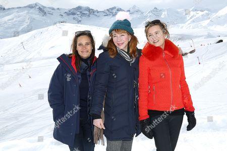 Julie De Bona, Julie Depardieu, Caroline Proust