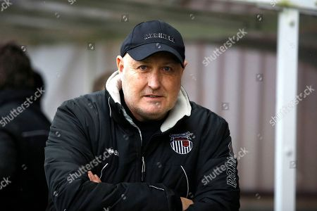 Grimsby Town manager / coach Russell Slade during the EFL Sky Bet League 2 match between Crawley Town and Grimsby Town FC at the Checkatrade.com Stadium, Crawley. Picture by Andy Walter