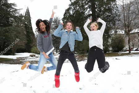 Stock Image of Laurence Roustandjee, Zoe Tellier and Jenny del Pino