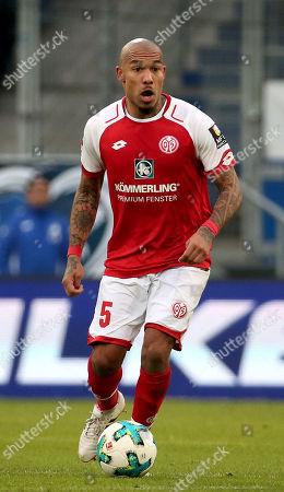 10.02.2018, Wirsol Rhein-Neckar-Arena, Sinsheim, GER, 1.FBL, TSG 1899 Hoffenheim vs FSV Mainz 05,  Nigel de Jong (FSV Mainz 05)