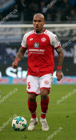 Germany, Sinsheim, 10.02.2018, Football, Bundesliga,  2017/2018, TSG 1899 Hoffenheim - 1. FSV Mainz 05: Nigel de Jong (1. FSV Mainz 05).