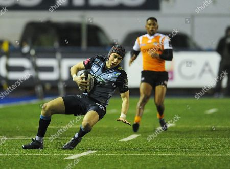 Photographer Kevin Barnes/CameraSport. Guinness Pro14 Round 14 - Cardiff Blues v Toyota Cheetahs - Saturday 10th February 2018 - Cardiff Arms Park - Cardiff