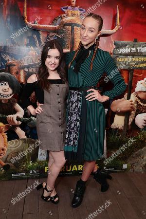 Aubrey Miller and Ava Michelle