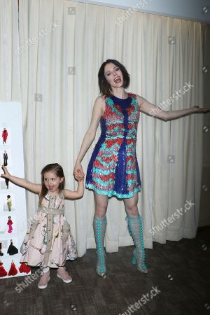 Coco Rocha and daughter Ioni James Conran