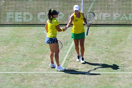 Stock Picture of Casey Dellacqua and Ashleigh Barty