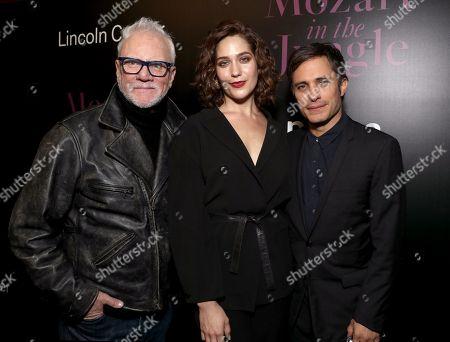 Malcolm McDowell, Lola Kirke, Gael Garcia Bernal
