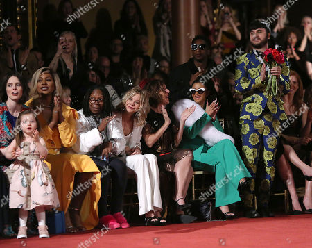 Coco Rocha, Ioni James Conran, Laverne Cox, Whoopi Goldberg, Meg Ryan, Molly Shannon, Cardi B and Brad Walsh