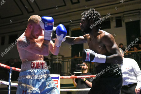 Editorial image of Mickey Helliet Show, Boxing, York Hall, Bethnal Green, London, United Kingdom - 10 Feb 2018