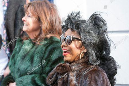 Patti Boulaye and Vicki Mitchell