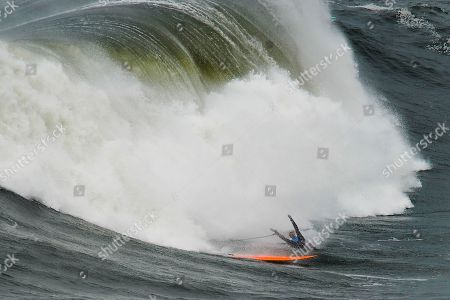 Editorial picture of Big Wave Nazare Challenge, Portugal - 11 Feb 2018