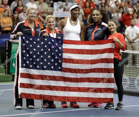 Editorial photo of Fed Cup Netherlands US Tennis, Asheville, USA - 11 Feb 2018