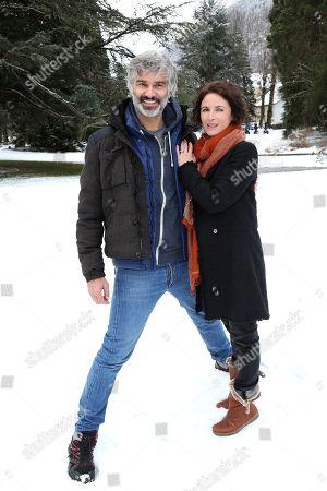 Francois Vincentelli and Elsa Lunghini