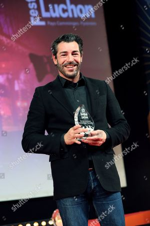 Arkivfoto av Xavier Lemaitre (Best Actor Award)