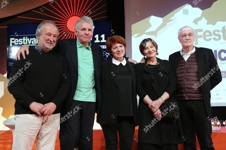 Editorial picture of Luchon Film Festival, Closing Ceremony, France - 10 Feb 2018