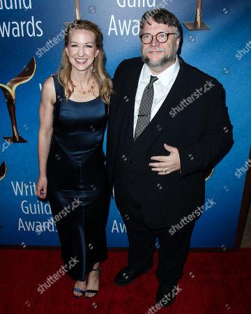 Stock Photo of Vanessa Taylor, Guillermo Del Toro
