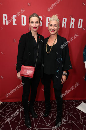 Thekla Reuten and Costume Designer Trish Summerville