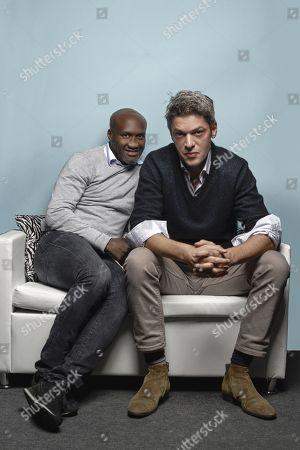 Stock Image of Souleymane M'Baye and Samuel Jouy