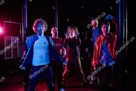 Editorial picture of !!! (Chk Chk Chk) Portrait And Rig Shoot, Bristol