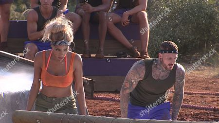 Tia Latham and Warren Phillips face off in the challenge