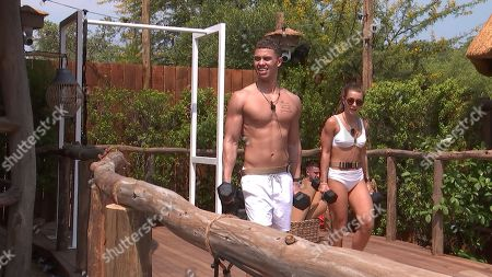 Tristan Jones and Dani Mas Dyer work out