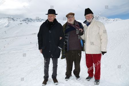 Laurent Fabius, Serge Moati and Jerome Clement