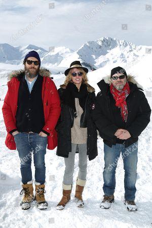 Stock Photo of Hubert Delattre, Sara Mortensen and Olivier Megaton