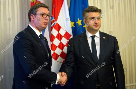 Serbia National Pocket Flag Men/'s Tee Image by Shutterstock