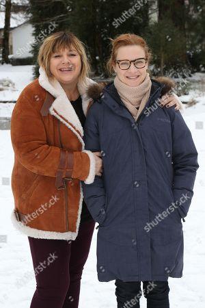 Michele Bernier and Odile Vuillemin