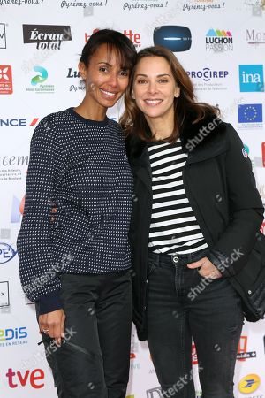 Sonia Rolland and Melissa Theuriau