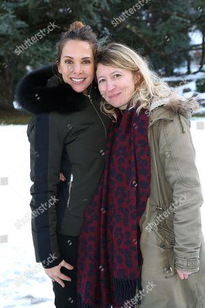 Melissa Theuriau and Ketty Rios Palma