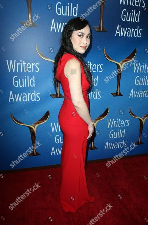 Editorial image of 70th Annual Writers Guild Awards, Arrivals, Los Angeles, USA - 11 Feb 2018