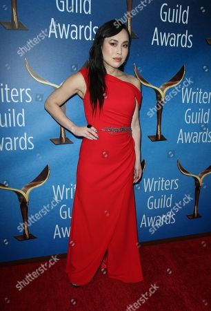 Editorial picture of 70th Annual Writers Guild Awards, Arrivals, Los Angeles, USA - 11 Feb 2018